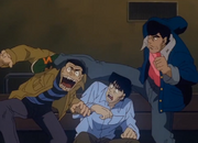 Takamura making Aoki forget about the bet
