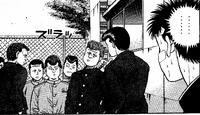 Umezawa, Matsuda, Takemura - Ippo meeting gang