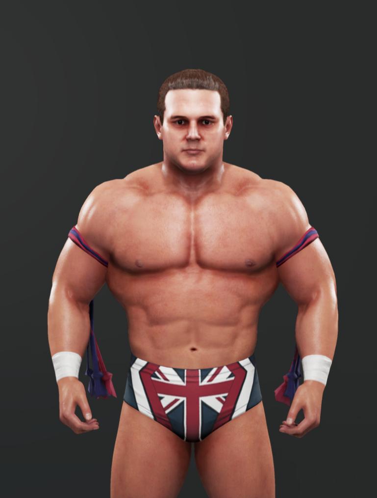 British Bulldog Wrestler