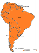 South America iRacing Map