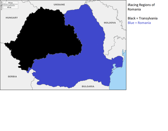 Romania iRacing Regions