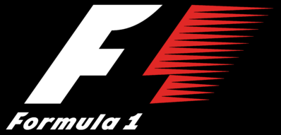 F1 Formula 1 logo black background