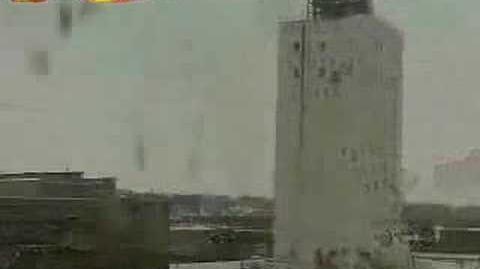 Failed building demolition