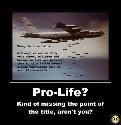 Pro-Life-Anti-War