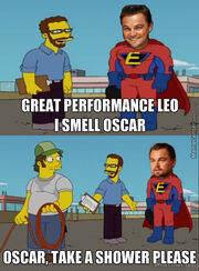 Leo oscar fail comic