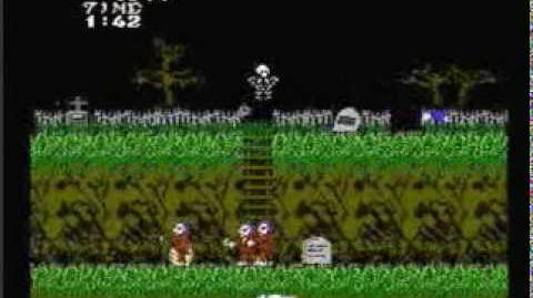 GHOSTS N GOBLINS nintendo game Review - The IRATE Gamer