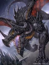 Black dragon by ozma02-d8pnpj3