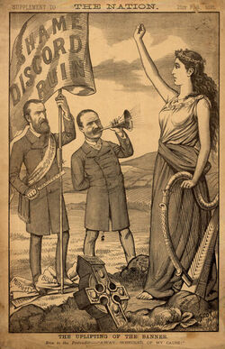 1891-2-21 the uplifting of the banner