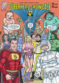 Superhero showcase