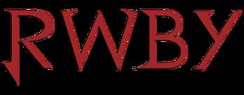 RWBY logo red