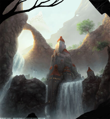 File:Waterfall castle by industrial forest-d5oaci4.jpg