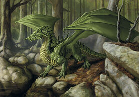 Green dragon - Lars Grant-West