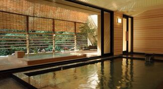 Inside of spa