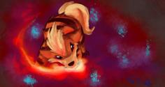 Growlithe by luminawolf-d3kkwjq