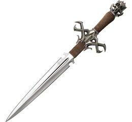Sztylet Kit Rae Deaths Head Dagger With Plaque KR0048
