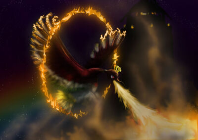 Ho oh used sacred fire by syrabi-d4nrrrb