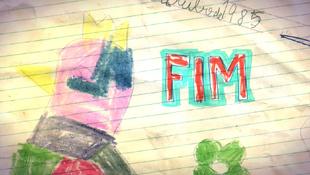 Cartão de Fim