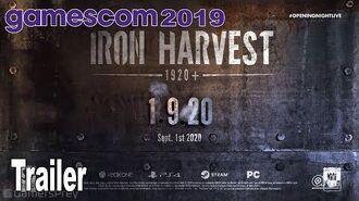 Iron Harvest 1920+ - Gamescom 2019 Trailer -HD 1080P-