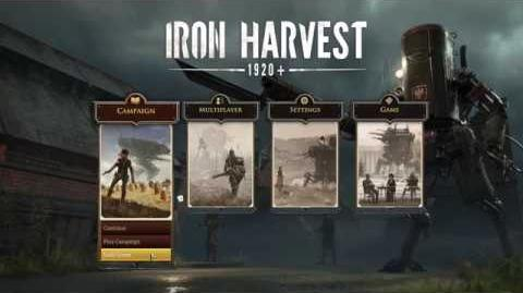 Iron Harvest - Pre-Alpha Gameplay with annotations