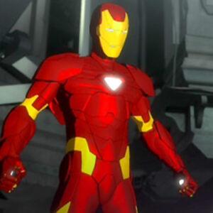 Iron Man Costume Roblox Iron Man Armor Mark Ii Iron Man Armored Adventures Wiki Fandom