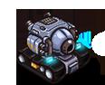 Hero tank basic animations REF
