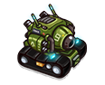 Hero tank basic animations REF-0