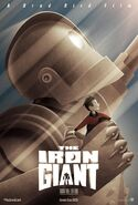 The Iron Giant 2015 Comic Con Poster
