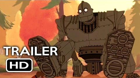 The Iron Giant Remastered Official Trailer 1 (2015) Animated Movie HD