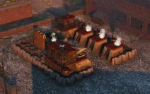 Rusviet barracks advanced