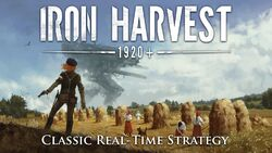 Iron Harvest splash