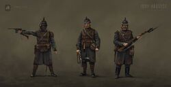 Saxony Basic Infantry - Iron Harvest