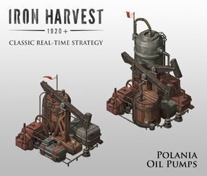 Polania Oil Pumps - Iron Harvest