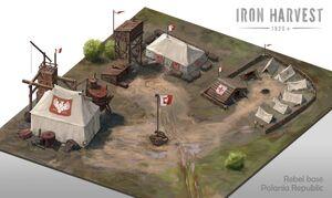 Polania base - Iron Harvest