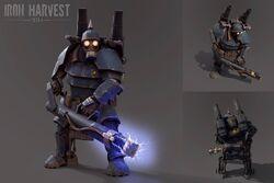 Saxony Heavy Infantry - Iron Harvest