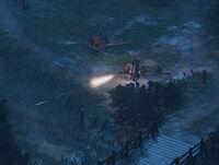 Anti-Mech Cannon - Iron Harvest