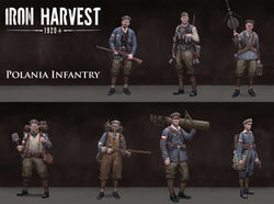 Polania Infantry - Iron Harvest