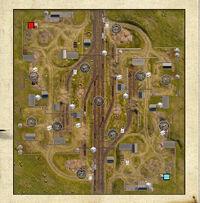 Abandoned Railway Station map - Iron Harvest