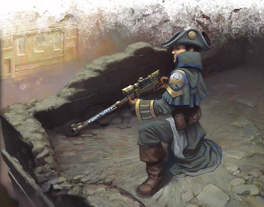 Image result for arcane tempest rifleman art