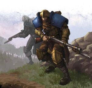 Trencher Infantry