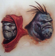 Male and female trollkin 1