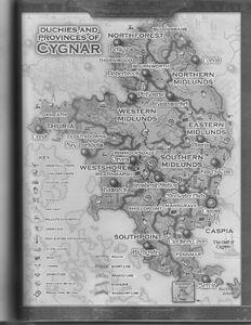 Cygnar MAp