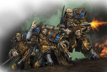 Cygnar Commandos