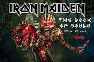 The Book of Souls World Tour Poster