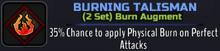 W Burning