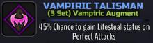 A Vampiric