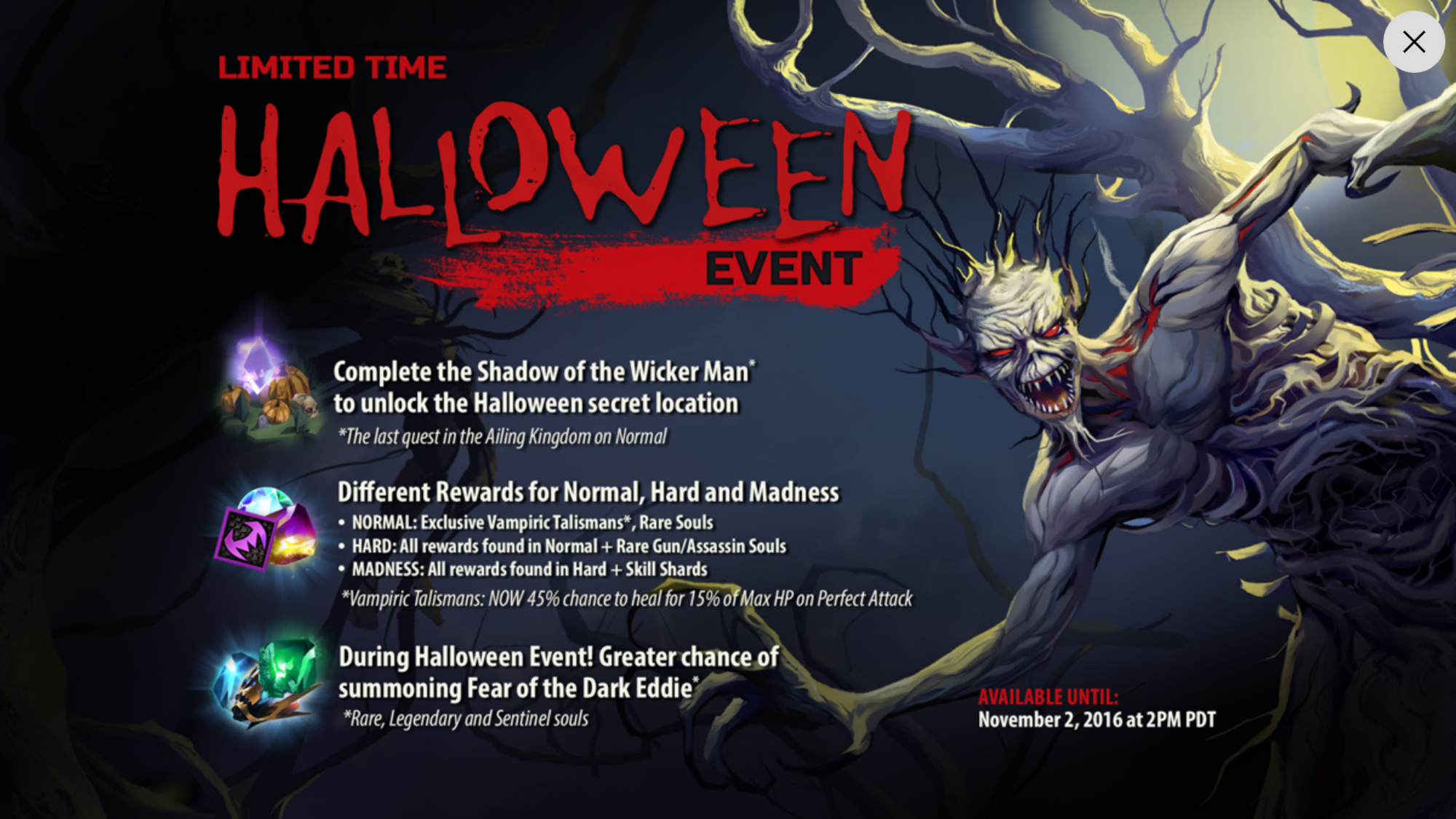 image - halloween event | iron maiden: legacy of the beast wiki