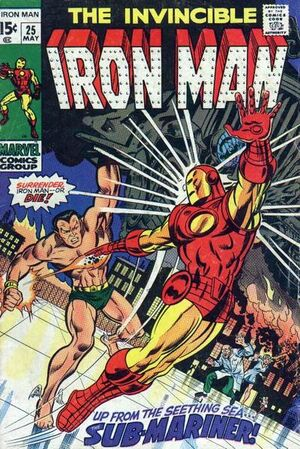 Iron Man Vol 1 25
