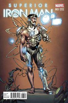 Superior Iron Man Vol 1 3 Çinar Variant (1)