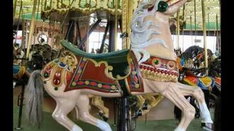 Santa Cruz Beach Boardwalk Carousel-0