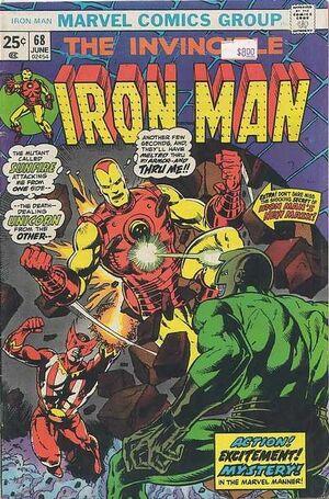 Iron Man Vol 1 68